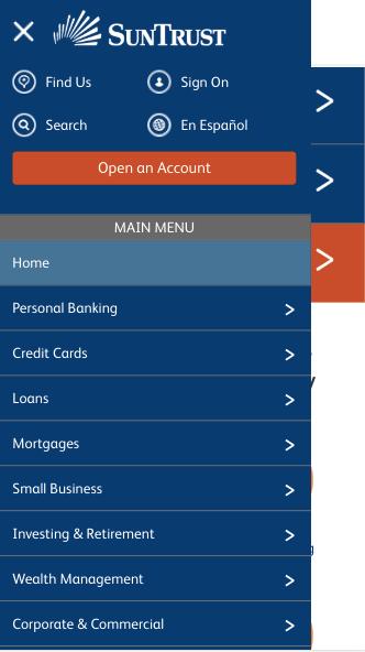 SunTrust lines of credit review finder.com