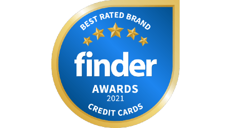 Finder Credit Card Awards - Winner Badge