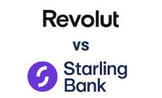 Revolut vs Starling logo