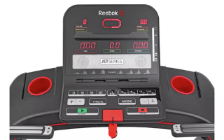 A second view of the Reebok Jet 100 Treadmill