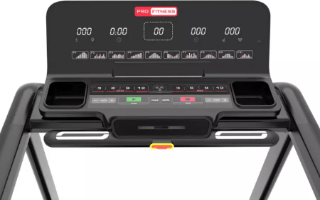A second view of the Pro Fitness T2000 Treadmill