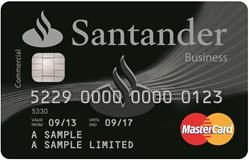 Santander Business Cashback Credit Card Mastercard