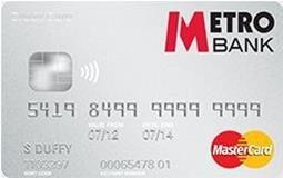 Metro Bank Business Credit Card Mastercard