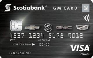 Scotiabank GM Visa Infinite Card Review