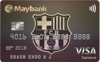 Maybank FC Barcelona Visa Signature Card Review