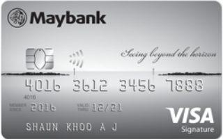 Maybank Horizon Visa Signature Card Review