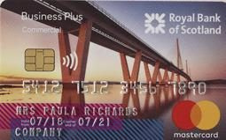 Royal Bank of Scotland Business Plus Credit Card Mastercard