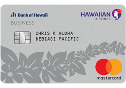 Hawaiian Airlines® Business Mastercard®