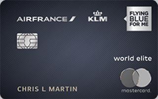 Air France KLM World Elite Mastercard® review