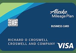 Alaska Airlines Visa® Business credit card