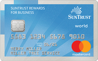 SunTrust Business Cash Rewards Credit Card review