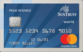 SunTrust Prime Rewards Credit Card review