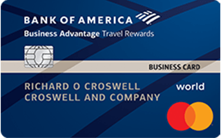 Bank of America® Business Advantage Travel Rewards World Mastercard® credit card review
