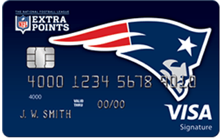 Review: NFL Extra Points New England Patriots credit card