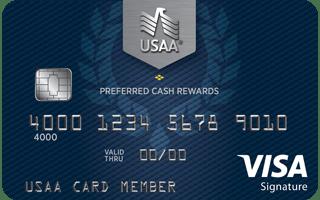 USAA® Preferred Cash Rewards Visa Signature® Card review
