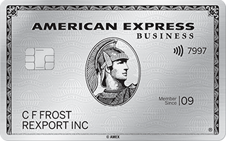 Business Platinum Card from American Express