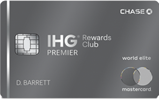 IHG® Rewards Club Premier Credit Card review