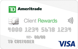 TD Ameritrade Client Rewards Card review