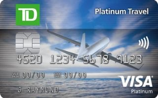 TD Platinum Travel Visa Card Review