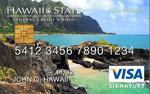 Hawaii State Visa Signature Cash Rewards Credit Card review