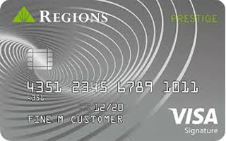 Regions Prestige Visa® Signature Credit Card review