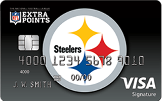 Review: NFL Extra Points Pittsburgh Steelers credit card
