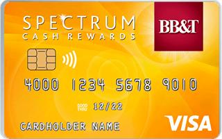 BB&T Spectrum Cash Rewards Secured Credit Card review