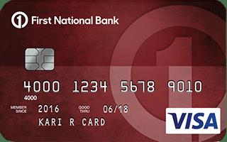 Rebuild your credit: Secured Visa® Card