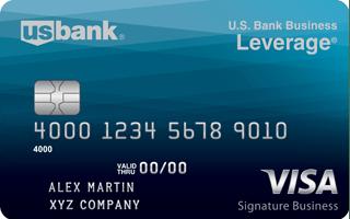 U.S. Bank Business Leverage® Visa Signature® Card review