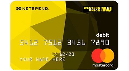 Western Union NetSpend Prepaid Mastercard Review