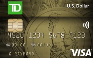 TD US Dollar Visa Card Review