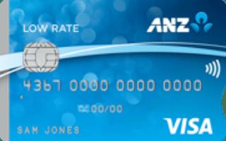ANZ Low Rate Visa Credit Card