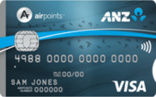 ANZ Airpoints Visa Credit Card