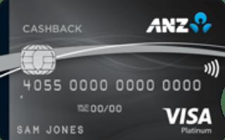 ANZ CashBack Visa Platinum