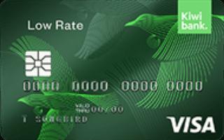 Kiwibank Low Rate Visa