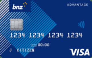 BNZ Advantage Classic credit card