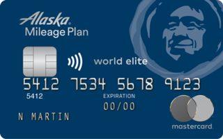 Alaska Airlines World Elite Mastercard