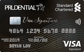 Standard Chartered Prudential Visa Signature Card Review