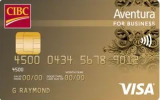 CIBC Aventura Visa Card for Business Plus review