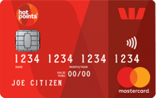Westpac hotpoints Mastercard