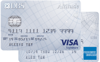 DBS Altitude Visa Signature Card Review