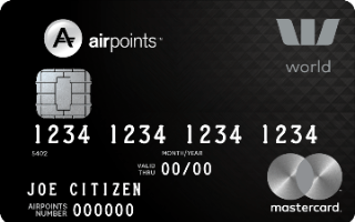 Westpac Airpoints World Mastercard