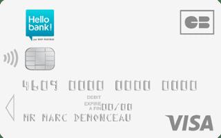 Avis sur Hello bank! : Comptes, cartes et caractéristiques