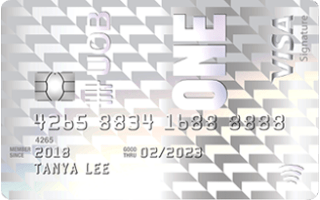 UOB One Credit Card Review