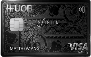 UOB Visa Infinite Metal Card Review