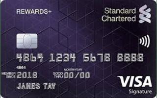 Standard Chartered Rewards+ Credit Card Review