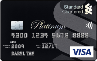 Standard Chartered Platinum Visa Credit Card Review