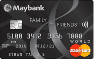 Maybank Family & Friends Credit Card Review