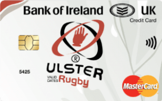 Bank of Ireland UK Ulster Rugby Affinity Mastercard review