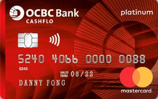 OCBC Cashflo Credit Card Review